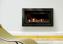 Escea IB850 Black Fireplace