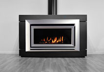 Escea IB850 Silver Indoor Gas Fireplaces